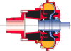 Fluid Coupling -- 650 TVNC