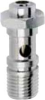 Right Angle Flow Control Valve -- SCO 604 - 1/8 -- View Larger Image