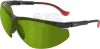 Uvex XC Safety Glasses with Black Frame and Shade 2 Welding -- S3305