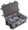 Pelican 1650 Protector Case with Foam Interior - Black -- 1650-020-110