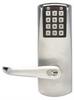 Programmable Lockset,Cylindrical,Chrome -- 2ZU99