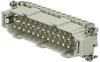 Connector insert ILME CNEM-24T