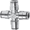 Brass Push-in Fittings - BSP/Metric Size -- 6600 10 - Image