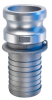 Kuriyama-Couplings Aluminum Male Adapter x Hose Shank -- 31086