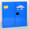 Eagle 30 gal Blue Hazardous Material Storage Cabinet - 43 in Width - 44 in Height - Floor Standing - 048441-33200 -- 048441-33200