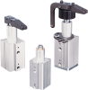 Swing Arm Pneumatic Clamp for Automated Work Holding -- PB