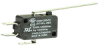 MICRO SWITCH V15 Series Standard Basic Switch, 22 A, long straight lever, 6,35 mm x 0,80 mm quick connect terminals, SPDT, 100 gf [0,98 N] -- V15H22-CZ100A03-K -Image