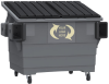 4yd. Front Load Commercial Container