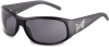 TapouT KO Sunglasses with Matte Black Frame and Gray Flash -- TAP-92080