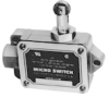MICRO SWITCH BAF/DTF Series High Capacity Enclosed Switches, Top Roller Plunger, 2NC/2NO DPDT Snap Action, Actuator Position - Left, O-ring actuator seal -- DTF2-2RQN8-LH -Image