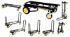 8-Way Convertible Cart,33-1/4 In H,Black -- Cart-RT6 - Image