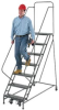 EGA 50° Stairway Slope Ladders with 5- to 12-Steps -- 7373202