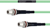Temperature Conditioned Low Loss N Female Bulkhead to N Female Bulkhead Cable LL335i Coax in 48 Inch -- FMHR0250-48 -Image