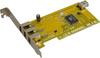3-Port FireWire/1394 PCI (3xExt+1xInt) (DV&#8230 -- IO-PFW410