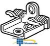 Erico Hammer-On Flange Clip -- M24