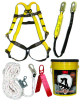 3M 20058 Fall Protection Kit - 6 ft Length - 078371-00086 -- 078371-00086