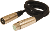 XLR MALE/FEMALE SWITCHCRAFT / 8412 50' -- 31-200-600