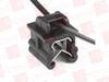 "HELLERMANN TYTON 156-00540 ( CABLE TIE & EDGE CLIP, 8.0"" LONG, EC5B, 1–3 MM PANEL, 50LB, PA66HS/PA66HIRHSUV, BLACK, 500/PKG ) -Image"