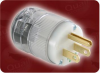 ASSEMBLED NEMA 5-15P HOSP. GRADE PLUGCLR -- 0310.MPC
