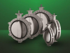 FA725G - Large Diameter Butterfly Valve -- View Larger Image