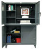 Two Compartment Computer Cabinet -- 4.56-CC-244 - Image