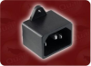 AC INLET , SCREW MT. C14 -- WS-044-9 - Image