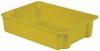 Stack and Nest Container,34x24x8,Yellow -- 21P644