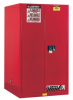 Justrite Combustibles Safety Cabinet -- CAB282