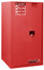 Hazardous Liquid Safety Storage Manual Close Cabinet -- CAB25600-RED