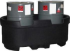 55 Gallon Drum Containment - 2 Drum -- A-OP0055-2DC