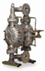 Air-operated powder pump, 18 GPM, 316 SS, Santoprene, EPDM -- EW-74026-10