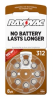 Mercury Free Hearing Aid Batteries Size 312 8-Pack -- L312ZA-8ZM - Image