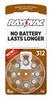 Mercury Free Hearing Aid Batteries Size 312 8-Pack -- L312ZA-8ZM