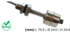 LS02 Liquid Level Sensors -- LS02-1A66-S-500W