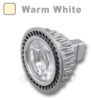 MR16 LED Bulb 4.5W 45 Deg Silver - Warm White -- LB-SC-MR16-1S-WW