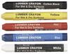 Dixon 49400 Lumber Crayons Black 12pc/pk -- CRAYONLUMBLA - Image