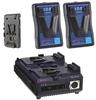 JVC IDX Endura Battery Package for JVC GY-HD250U -- LE-HD250KIT - Image