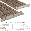 Rectangular Cable Assemblies -- M3AWK-6020K-ND -Image