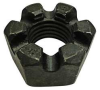 Heavy Hex Locknut,Slotted,1 1/2-6,PK 5 -- 6YRK2 - Image