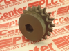 DOUBLE SPROCKET 17TEETH 3/4IN BORE W/KEYWAY -- D60B17H - Image