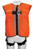 Vest Harness,Mesh,Orange,S/M -- 19F350
