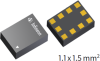 Low Noise Amplifier MMICs - LTE / 3G LNAs -- BGAU1A10 -- View Larger Image