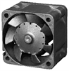 D4028Y24BPLB1-7 D-Series (High Efficiency) 40 x 40 x 28 mm 24 V DC Fan -- D4028Y24BPLB1-7 -- View Larger Image