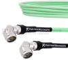 Low Loss Test RA N Male to RA N Male Cable LL335i Coax in 150 cm and RoHS -- FMCA1281-150CM -Image