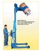 Vertical-Lift Drum Pourer -- H520-114 -Image