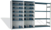 Closed Shelving with 14 Shelves and Mini-Racking, Capacity 800 Lbs/level (96