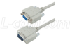 Deluxe Molded D-Sub Cable, DB9 Male / Female, 15 ft -- CSMN9MF-15