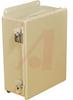 ENCLOSURE;NEMA 12;HINGED COVER;SCREW CLAMP;J BOX;10.00X8.00X4.00;STEEL;GRAY -- 70066810