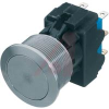 19MM DPDT MSM PUSHBUTTON SWITCH, STAINLESS -- 70020861 - Image