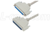 Deluxe Molded D-Sub Cable, DB37 Male / Female, 1.0 ft -- CSMN37MF-1 - Image